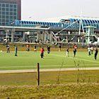 Voetbal op Sloterdijk - Foto: Myrel Morskate