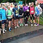 Start van de marathon bij de Groene van Amsterdam