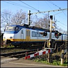Willekeurige spoorwegovergang - Foto: Arnoud Hugo