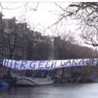 Protest tegen Singelgrachtgarage - eigen foto.